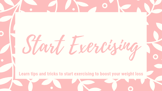 Start Exercising. Learn tips and tricks to start exercising to boost your weight loss.