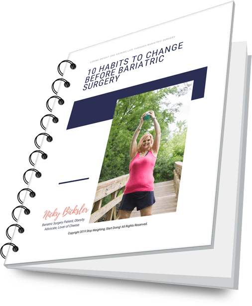10 Habits to Change Before Bariatric Surgery   Free Download